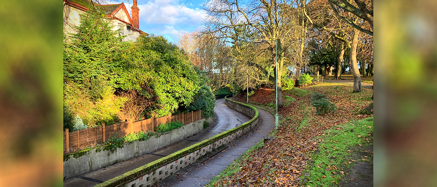 The Ravine - view from Belle Vue Park