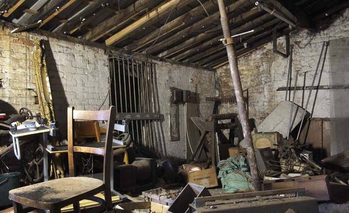 Warehouse section of 135, before conservation (Derek Jackson)