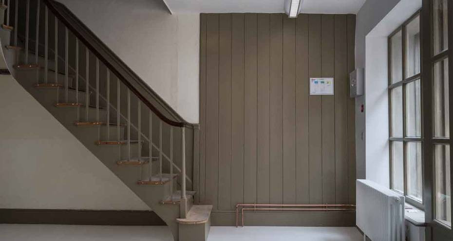 Ground floor of 135 King Street, after conservation (Derek Jackson)