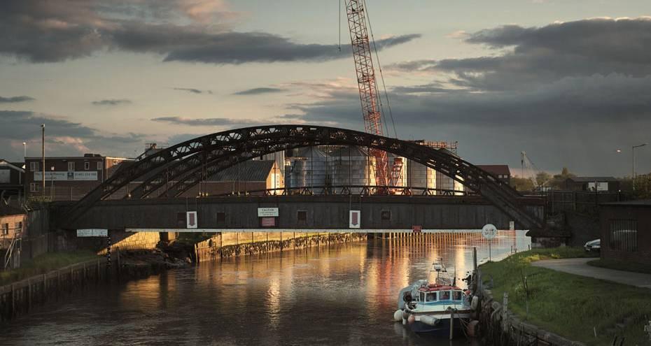 Vauxhall Bridge at sunset, Derek Jackson