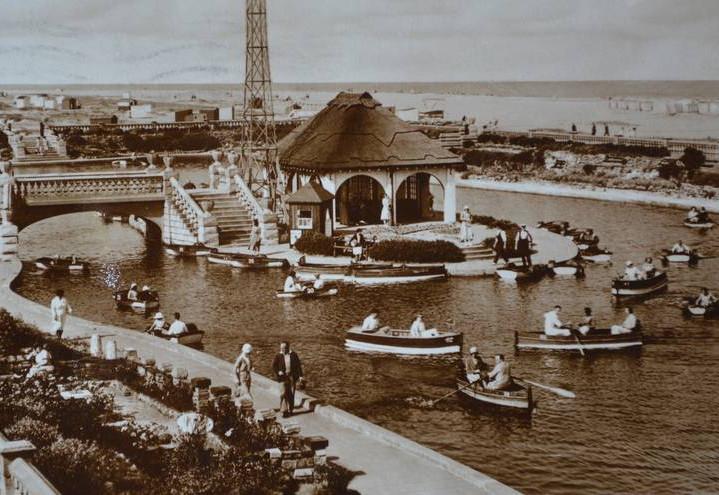 Boating Lake in 1936