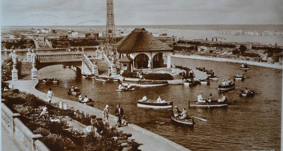 Boating Lake in 1936