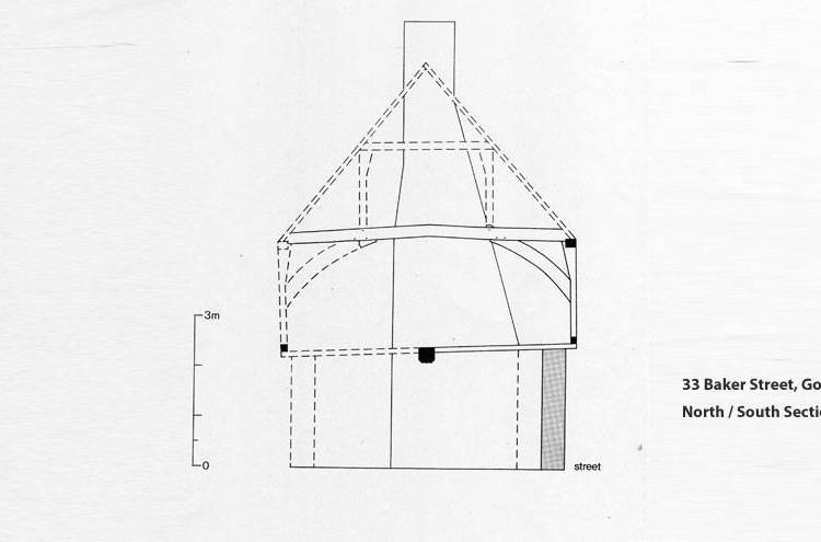 33 Baker Street elevation plan
