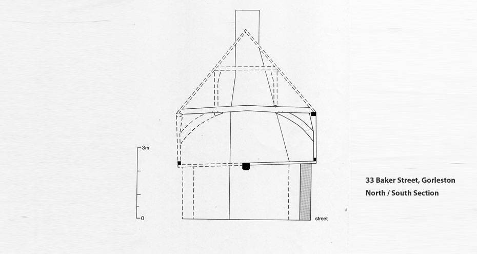 33 Baker Street elevation plan