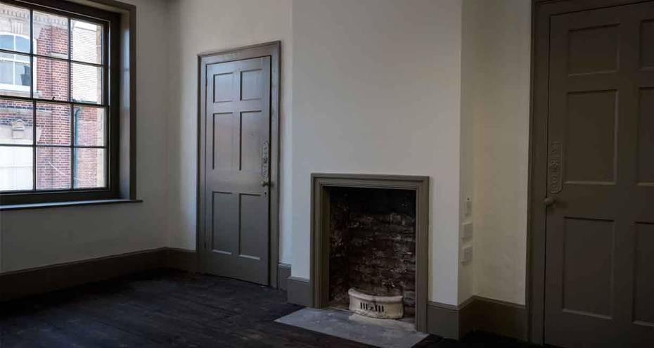 Second floor of 135 King Street, after conservation (Derek Jackson)