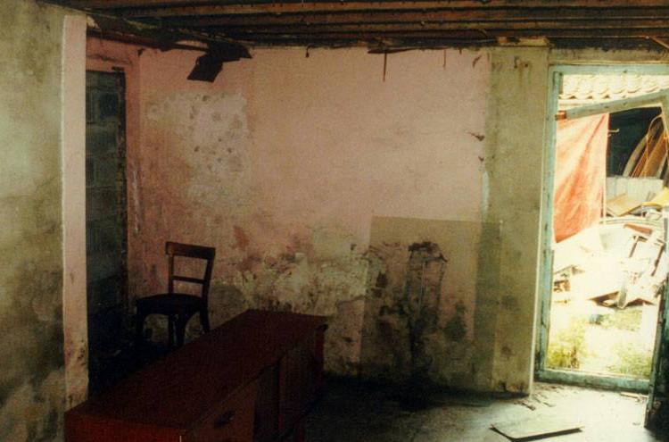 Baker Street interior before restoration