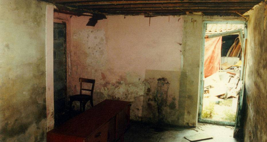 Baker Street interior before restoration
