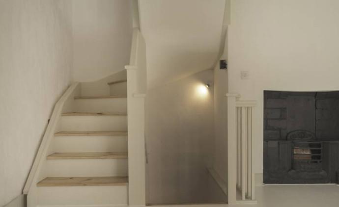 Restored staircase at Flat D, 135 King Street (Derek Jackson)