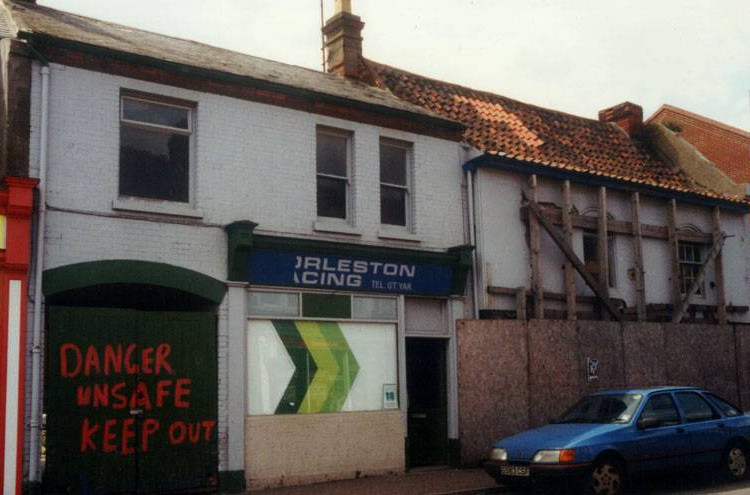 Baker Street exterior before restoration