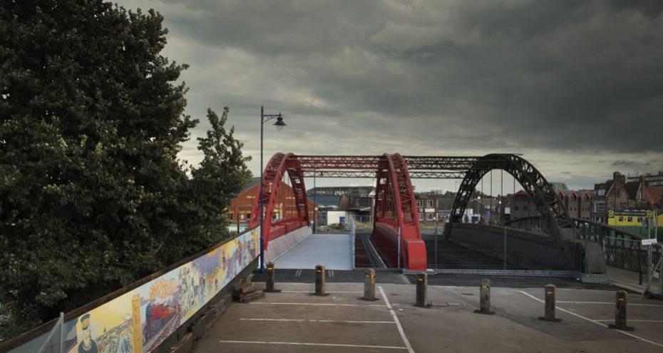 Vauxhall Bridge after Phase 1 completion, Derek Jackson