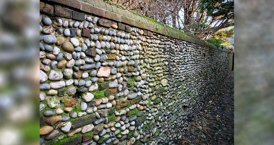 Martin's Score - historic wall