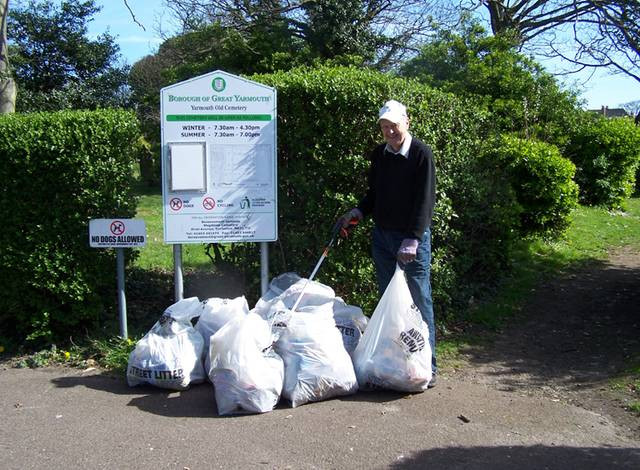Litter collection, 2013