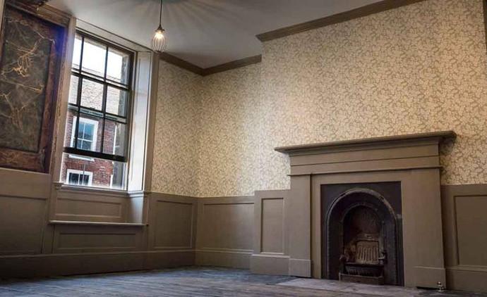 First floor of 135 King Street after conservation (Derek Jackson)