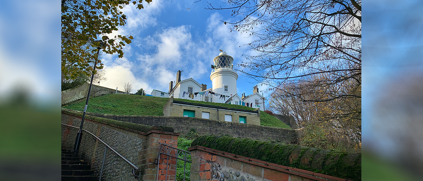 Lighthouse Score - view of Lowestoft Lighthouse