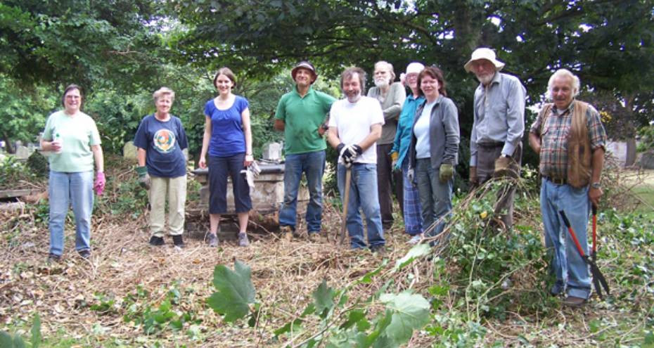 Friends of Great Yarmouth working party, 2013