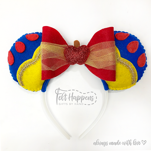 Snow White Mickey Mouse Ears
