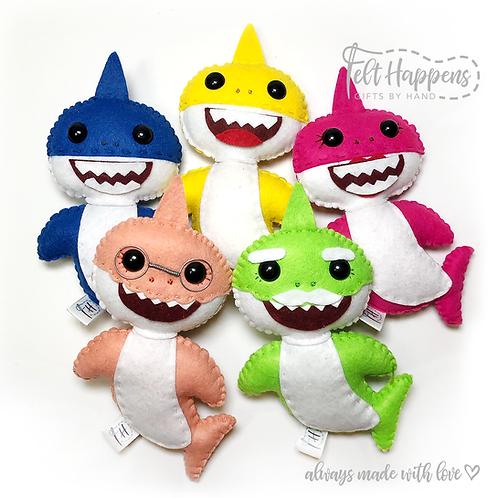 Baby Shark Stubby Family