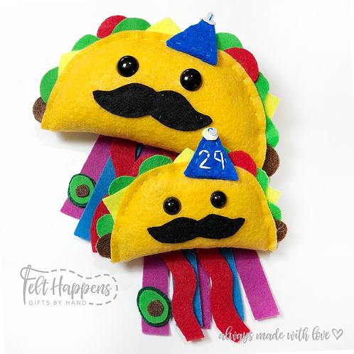 Taco Party Pin