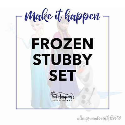 Make It Happen | Frozen Stubby Set