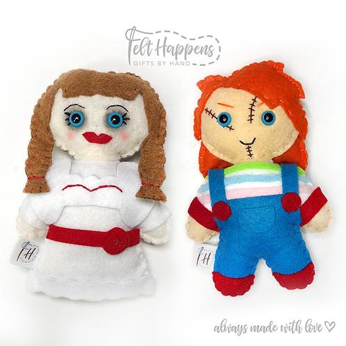 Killer Dolls Horror Stubbies