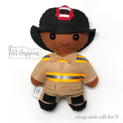 Firefighter Lookalike