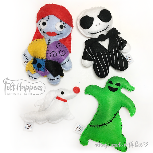 Nightmare Before Christmas Stubbies
