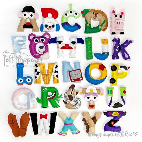Toy Story Alphabet