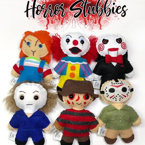 Horror Stubby Set of 6