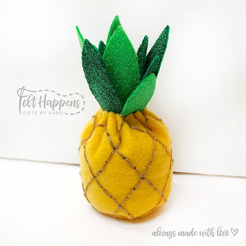 Pineapple with Glitter