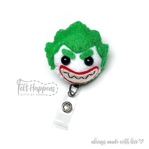 The Joker Badge Holder