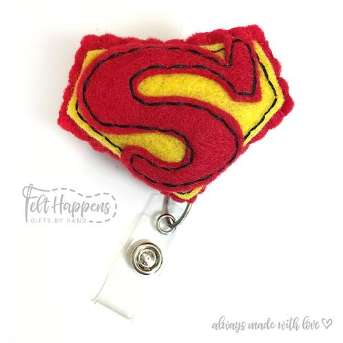 Superman Badge Holder