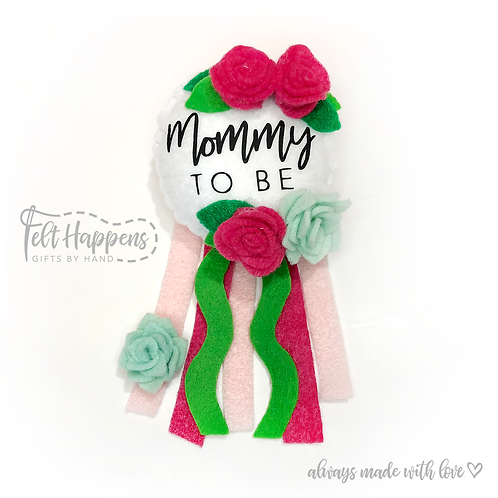 Mommy to Be Party Pin