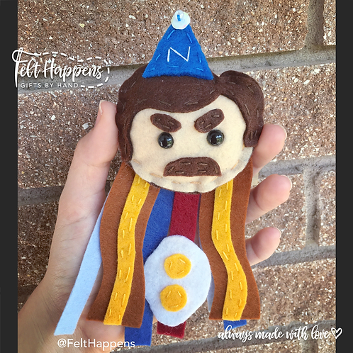 Ron Swanson Party Pin