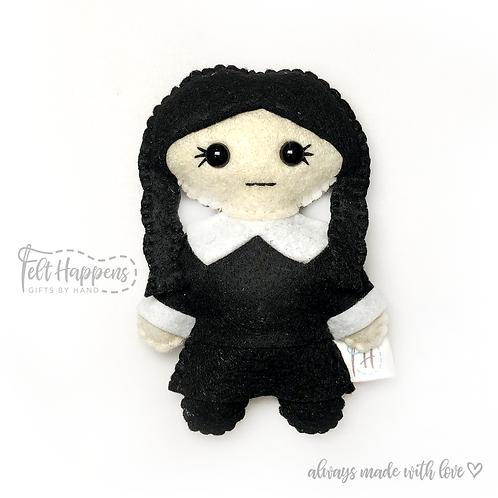 Wednesday Addams Stubby