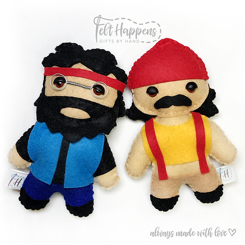 Cheech and Chong Stubbies