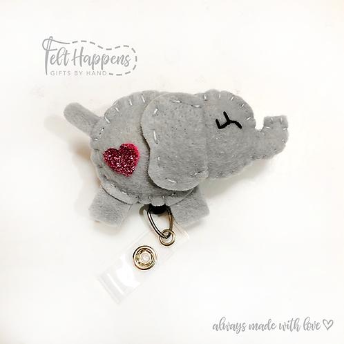 Elephant Badge Holder