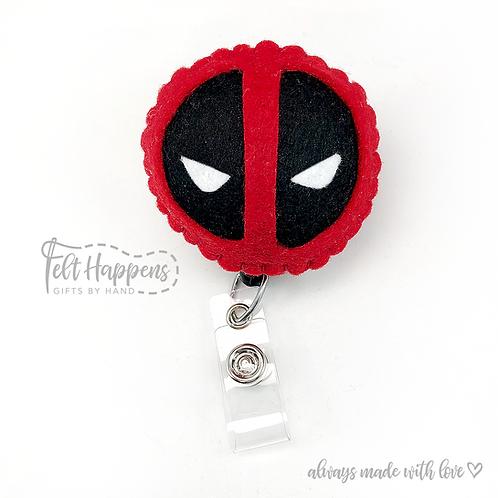 Deadpool Badge Holder