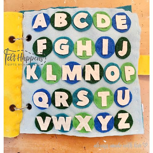 Alphabet Activity Page