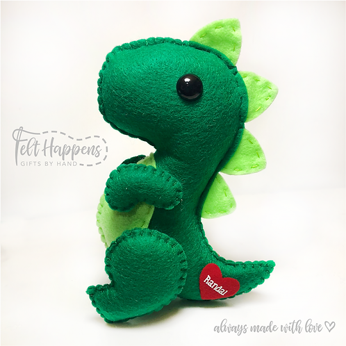 Dinosaur with Personalization