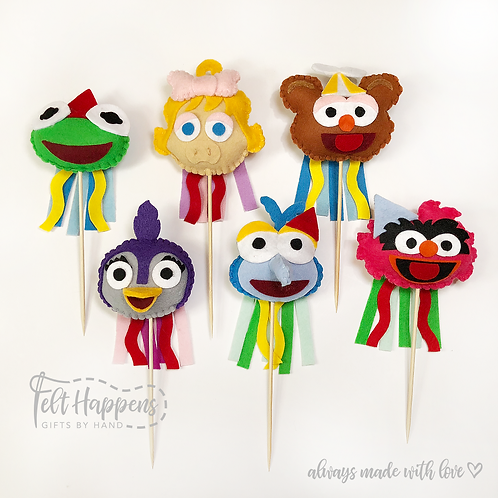 Muppet Baby Party Pin / Cake Topper