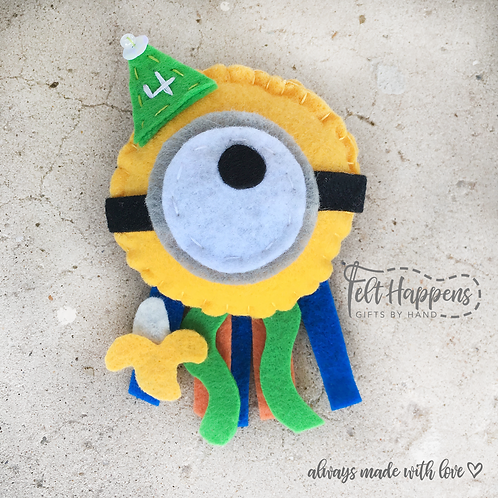 Minion Party Pin