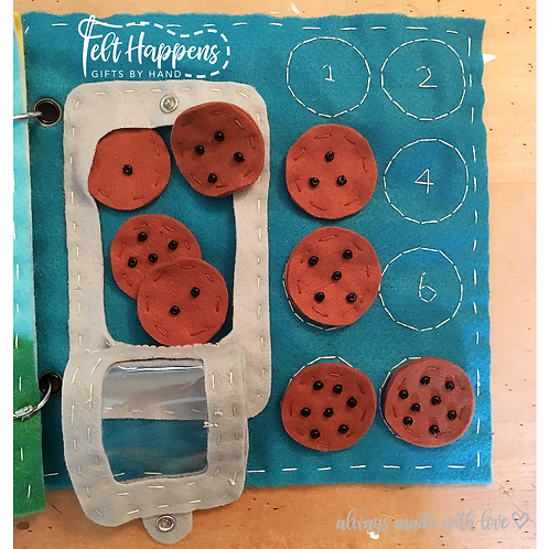 Cookie Counting Activity Page