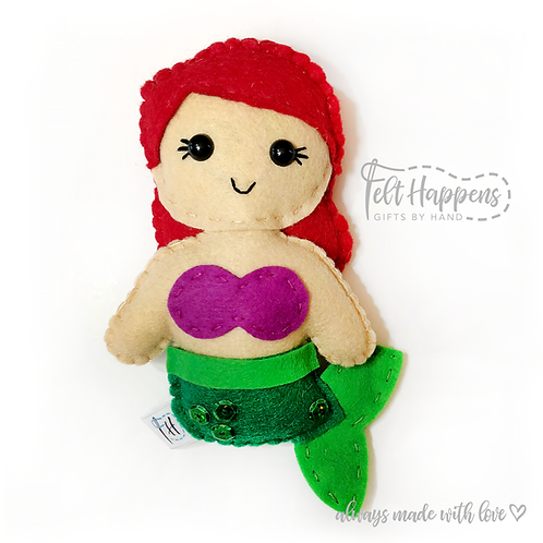 Ariel Little Mermaid Stubby