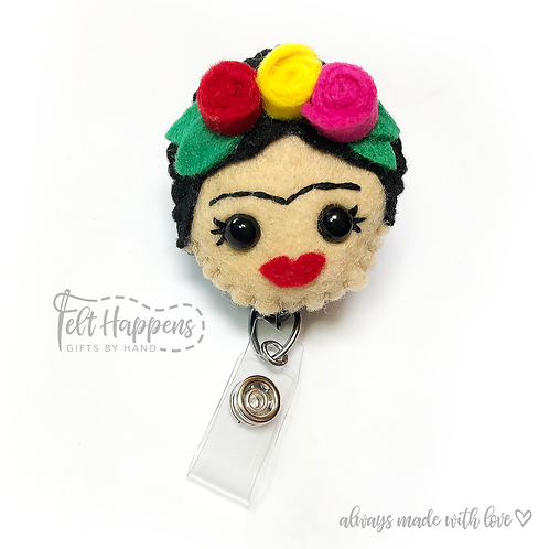 Frida Badge Holder