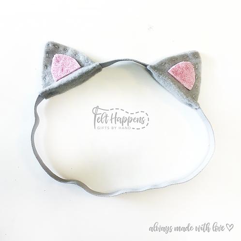Kitty Ears Toddler Headband