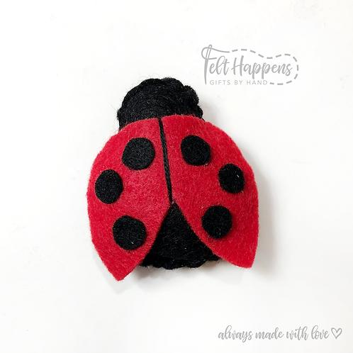 Ladybug Badge Holder