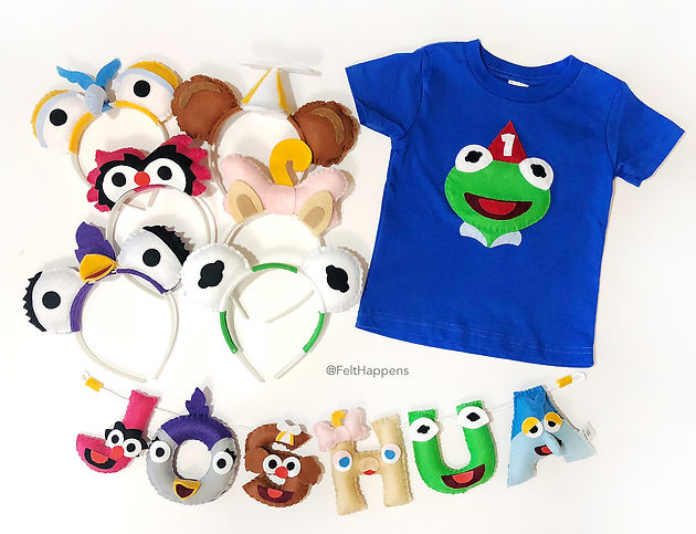 bec454a71 Other Muppet Baby Parties by Felt Happens since this post was created: