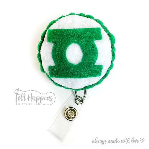 Green Lantern Badge Holder