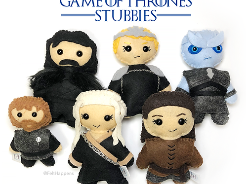 Game of Thrones Stubby Set