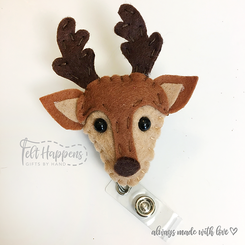 Deer Badge Holder